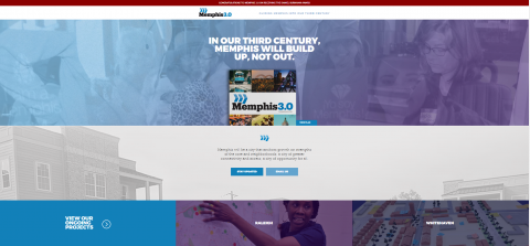 Comprehensive Planning New Website Cover Page